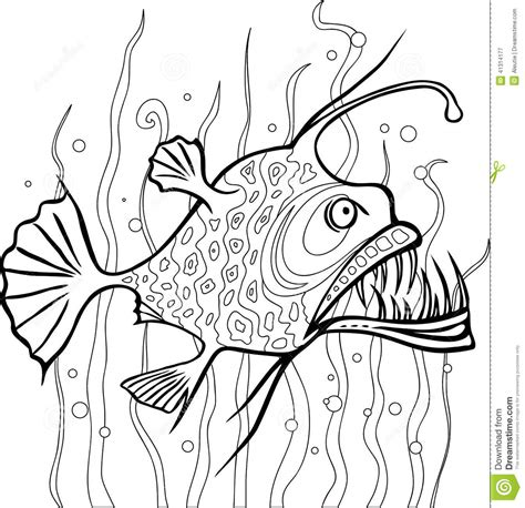 deep sea fish clipart 63