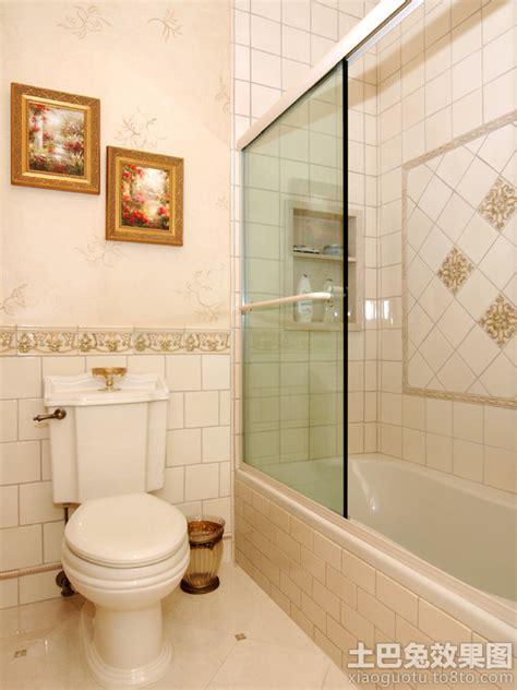 small bathroom ideas houzz 卫生间腰线砖图片 土巴兔装修效果图