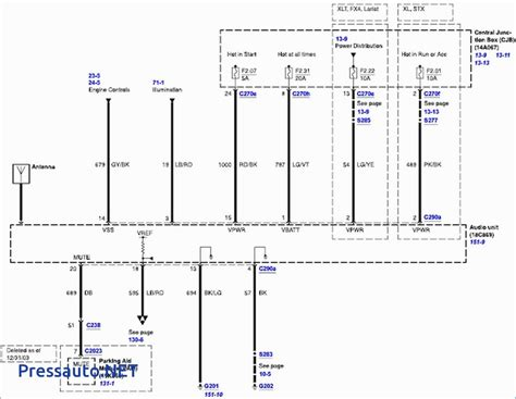 2007 f150 stereo wiring diagram wiring diagram manual