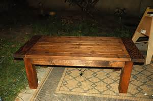 white tryde coffee table build diy projects