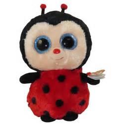 pics photos ty beanie boos plush bugsy ladybird
