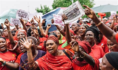 nigerian schoolgirls kidnapped by boko haram protests but protest over abducted gir 012 jpg
