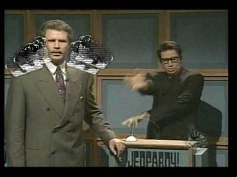 snl celebrity jeopardy goldblum youtube poop double jeff goldblum jeffardy youtube
