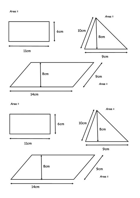 free printable area of parallelogram worksheets area of parallelograms worksheets worksheets for all