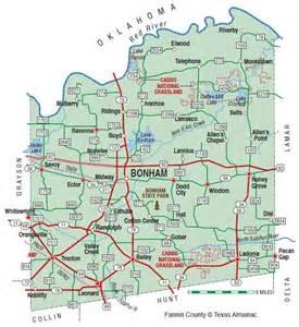 map of bonham fannin county the handbook of state