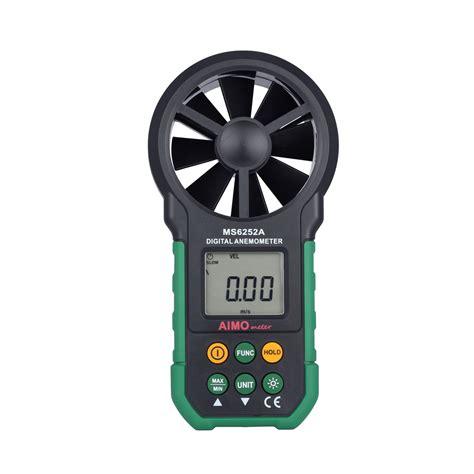 Digital Lcd Anemometer lcd digital anemometer handheld wind speed meter air