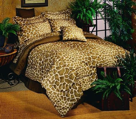 giraffe print bedding giraffe print queen bed in a bag