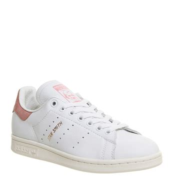 womens adidas stan smith white pink gold exclusive trainers shoes ebay