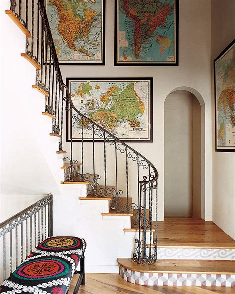 Decorating With Maps by 4 Ways To Get Around Your Landlord S No Nails Policy