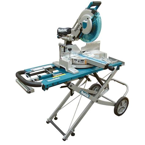 makita table saw with stand makita 15 amp 12 in dual slide compound miter saw with