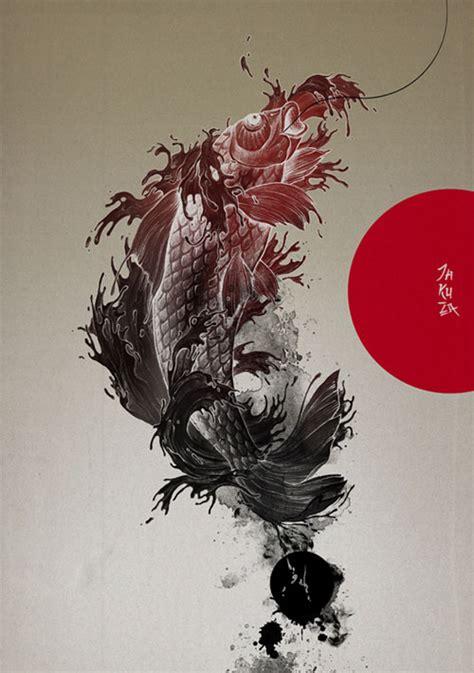 yakuza tattoo photoshop brushes beautiful illustrations by grzegorz domaradzki photoshop