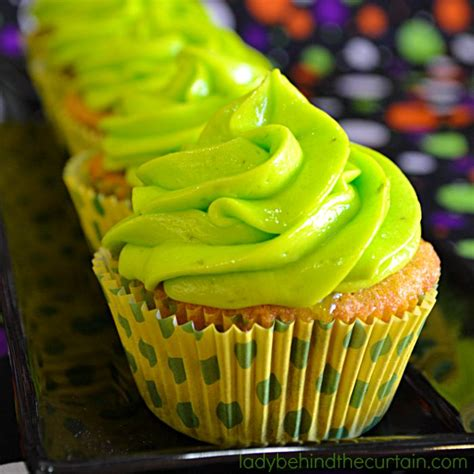 Powder Room Color Ideas slime filled coconut lime halloween cupcakes