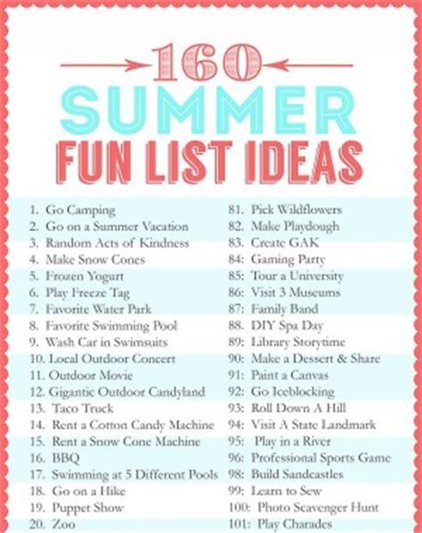 summer bucket list list for crazy teens apexwallpapers com 22 ideas for summer fun from pinterest