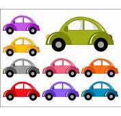 Cute Cars Digital Clip Art Funny Clipart  Instant Download