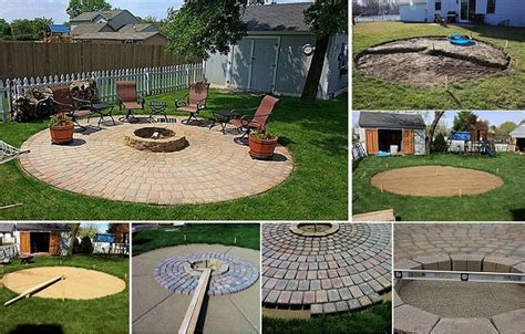 diy outdoor project pit and patio project find