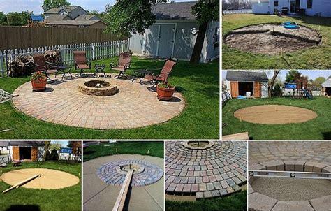 Backyard Gazebo Tent 40 Diy Fire Pit Ideas Home Design Garden Amp Architecture