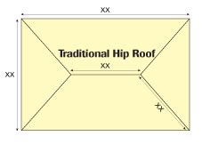 Hip Roof Pitch Calculator pitched roofing calculator sig roofing