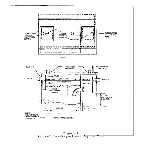 house septic tank design utilities piping in construction from construction knowledge net