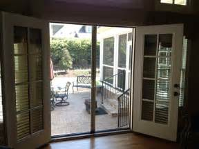 Patio Doors With Screens Patio Doors With Screens Doors For Cool Weather Protection To Turn On Ac Screens For