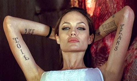 angie s tattoo angelina jolie photo 31835259 fanpop