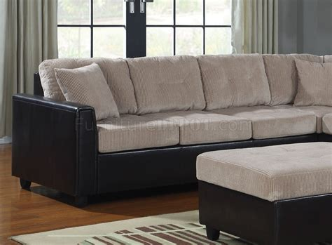 coaster sectional 503015 henri reversible sectional sofa by coaster