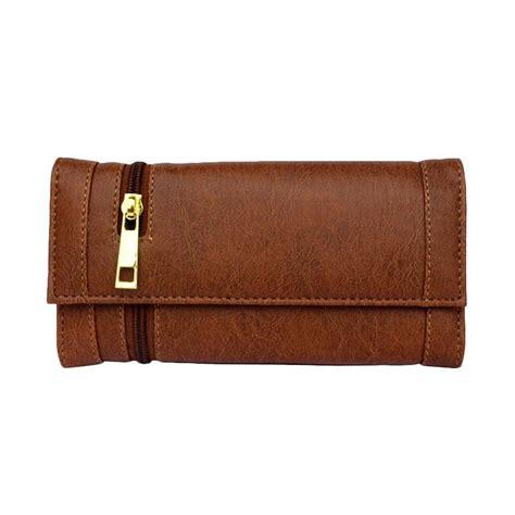 Dompet Wanita Dkd1 Coklat jual baglis elisa dompet wanita coklat harga kualitas terjamin blibli