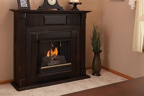 propane and ventless fireplaces chimneyless fireplace facts