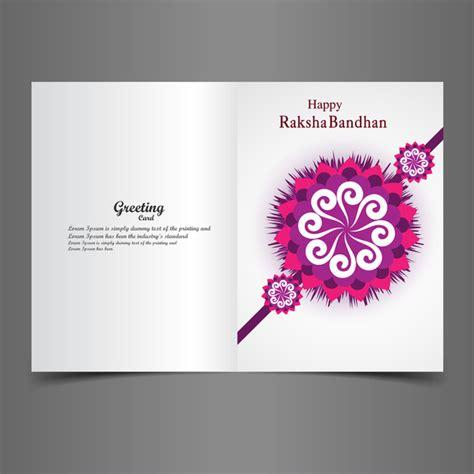 Greeting Card Templates For Raksha Bandhan by Raksha Bandhan Bright Colorful Greeting Card Rakhi Indian