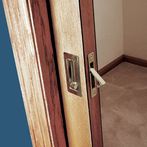 Install Interior Sliding Door How To Install A Pocket Door Easily Sliding Pocket Door Plans Installation