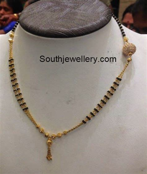 Simple Daily Wear Gold Mangalsutra