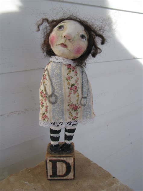 How To Make Paper Clay Dolls - paper clay doll mine and others i adore