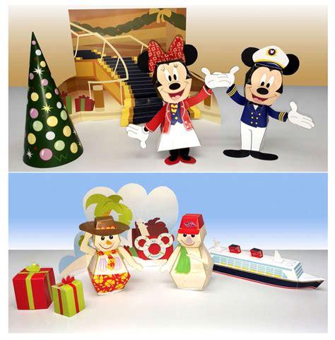 Disney Papercrafts - disney cruise line castaway club ecompass winter 2013
