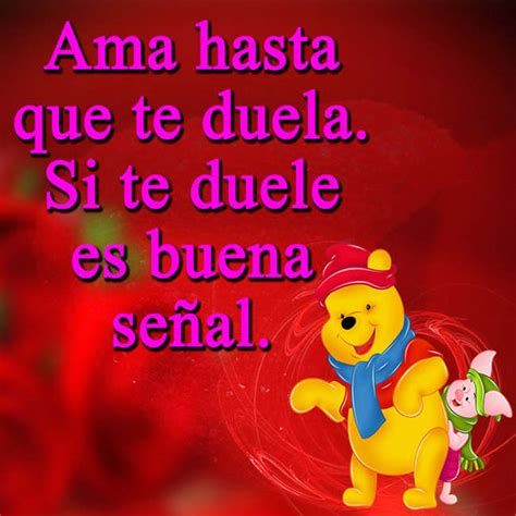 Imagenes De Amistad De Winnie Pooh Con Frases | im 225 genes de winnie pooh con mensajes tiernos de amor