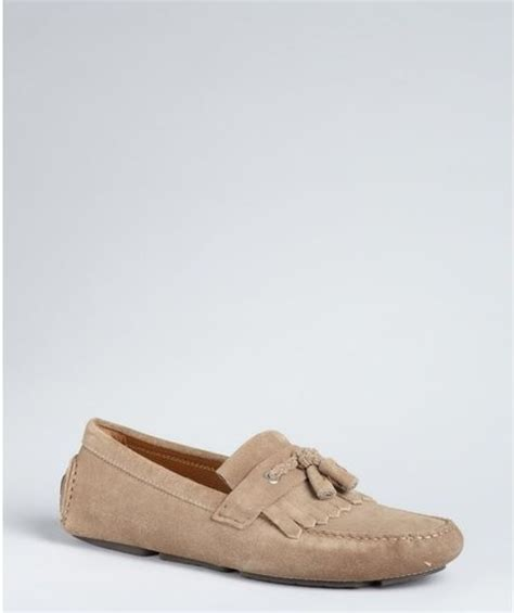 loafers clay jimmy choo clay suede braided tassel and fringe eaton