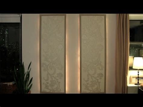 light up wall panels how to make lighted floating wall panels youtube