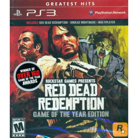 Bd Ps3 Dead Redemption Of The Year Edition dead redemption of the year edition greatest hits