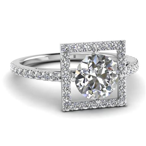 20 styles of square engagement rings that one can never