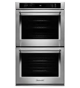 kitchenaid 174 30 quot wall oven with even heat true