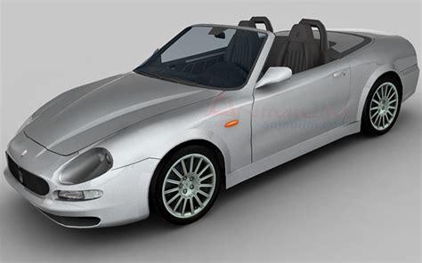 Maserati Models by Maserati Spyder 3d Model Free 3d Models