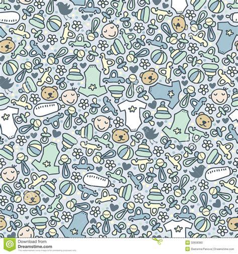 seamless pattern baby baby boy seamless pattern stock photo image 32658380