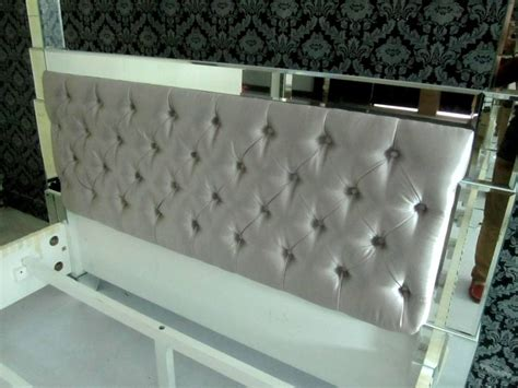 mirror headboard bed 1000 images about mirror bed on pinterest tufted bed