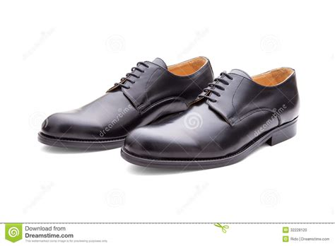 classic black shoes for stock photo image 32228120
