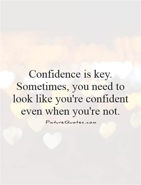 Confidence Quotes Self Confidence Quotes Sayings Self Confidence Picture