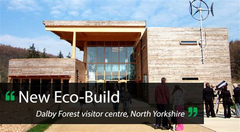Dalby Forest Eco Friendly Visitor Centre Opens by Builders Merchant