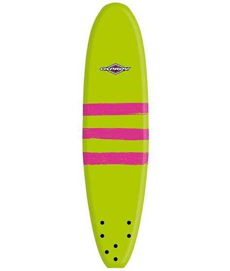 Planche débutant de surf pour débuter : Planche de surf en mousse Osprey 6'0 Triband
