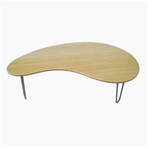 buy a made bamboo kidney bean coffee table eames era