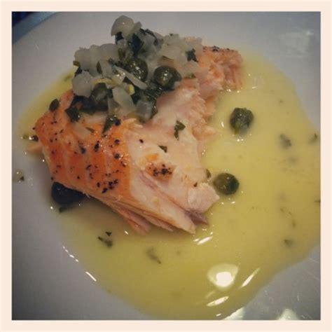 salmon with lemon butter caper sauce recipe food com