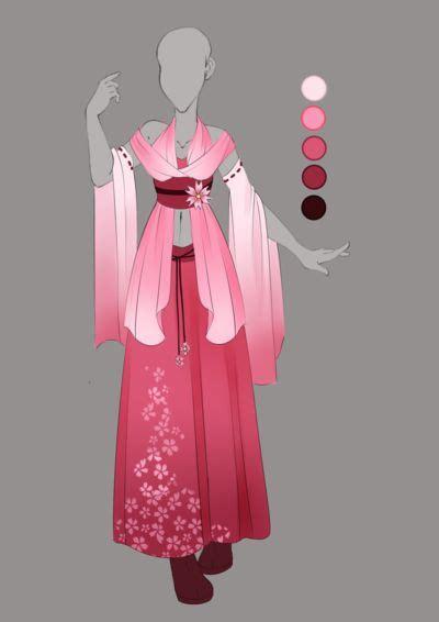 O Anime Clothing by Kiriban 01 By Violetky Deviantart On Deviantart