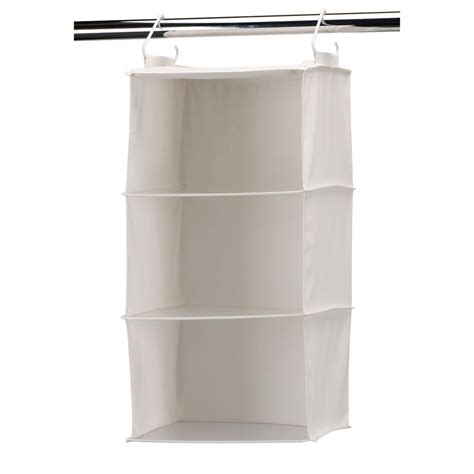 household essentials 3 shelf hanging organizer with