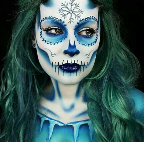 film makeup frozen 50 best sugar skull face painting images on pinterest